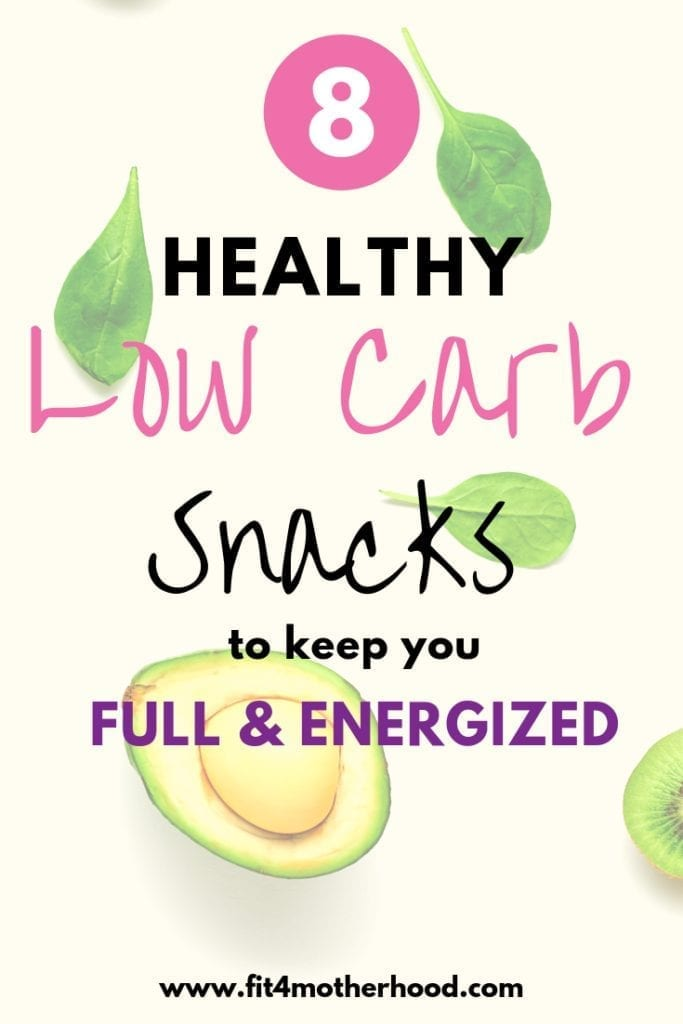 healthy low carb snacks