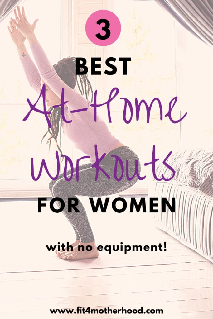 at-home workout for women